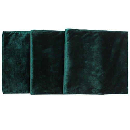 SORRENTO Christmas Velvet Table Runner Manufactured Green Runners- 13'*72' (10-15 days delivery)