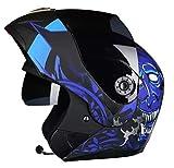 Casque De Moto Personnalisé avec Bluetooth Casque Ouvert Casques Motocross Dot Homologué Hommes Et Femmes Quatre Saisons Universel A L