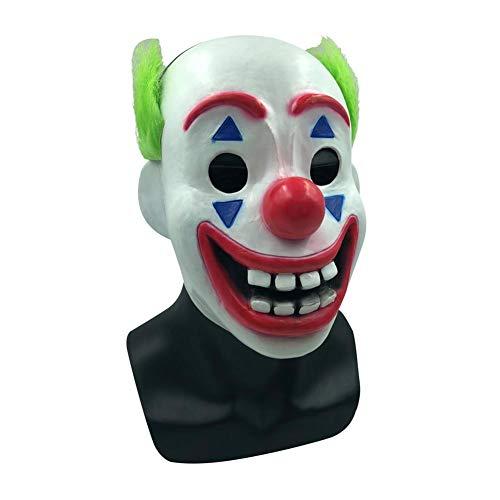 LUCYPAPASHOW Clown Maske Für Clown Kostüm Halloween Party Maske Bälle Karneval Parteien