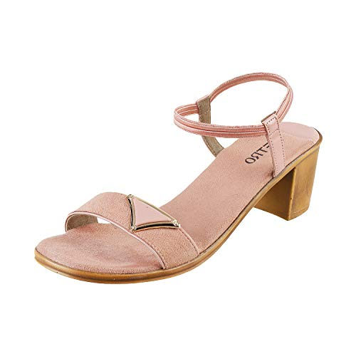 Metro Women's Peach Fashion Sandals-8 UK (41 EU) (33-516)