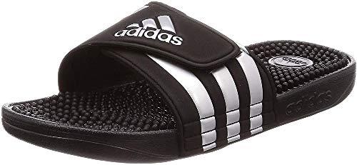 adidas Adissage, Unisex-Erwachsene Dusch- & Badeschuhe, Schwarz (Core Black/Silver Metallic/Core Black 0), 46 EU (11 UK)