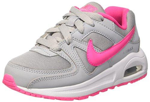 Nike Unisex-Kinder Air Max Command Flex (Ps) Sneaker, grau/pink, 28 EU