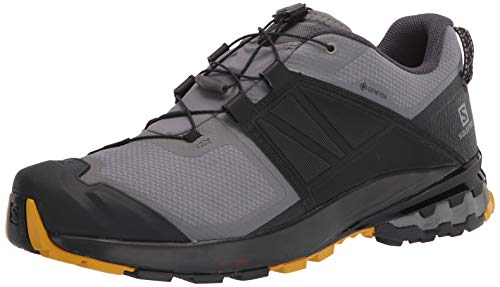 SALOMON XA Wild GTX, Zapatillas de Trail Running Hombre, Quiet Shade/Black/Arrowwood, 46 EU