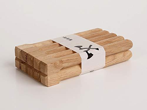 Holznägel - Eiche gefast - L 160 mm - 16mm