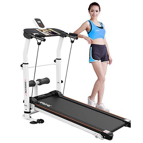 Aerobic Training Machines Treadmills Treadmill Folding Treadmill Mechanical Treadmill Tilt Fitness Exercise Aerobic Walking Treadmill Non-Electric Treadmill (Color : Black, Size : 120 * 45 * 130cm)