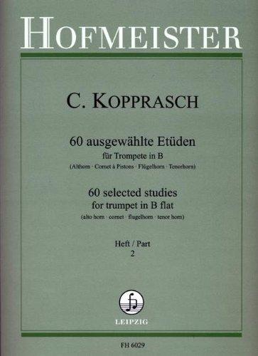 60 AUSGEWAEHLTE ETUEDEN 2 - arrangiert für Trompete [Noten / Sheetmusic] Komponist: KOPPRASCH C