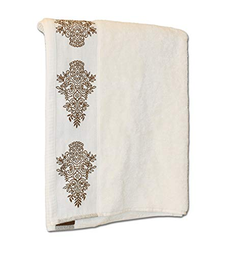 Exotic Cotton – Juego de Toallas de Baño 70 x 140 cm de Algodón Egipcio – 3 Piezas de Secado...