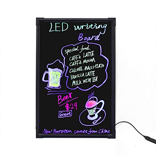 Check Out This 40x60cm Electronic Handwriting Fluorescent Board Glowing Advertising Blackboard Durab...