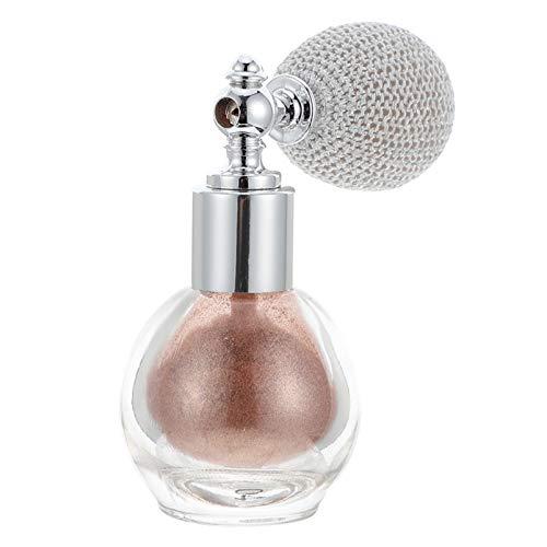 PIXNOR Poudre de Paillettes Vaporisateur de Parfum de Maquillage en Poudre Brillante pour Surligneur de Beauté Cosmétique Chatoyante