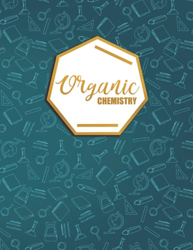 Organic Chemistry: Hex Grid Pattern Hexagonal Graph Paper Notebook