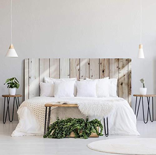 Rotula Tu Mismo Impression numérique en PVC Effet bois Tête de lit originale et économique Différentes tailles