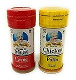 Chef Merito Carne Asada Beef and Chicken Seasoning Combo Pack, 3 oz I Pollo Asado,Carne Asado, Meat Seasoning