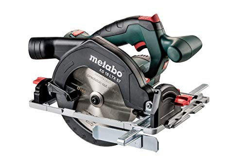 Metabo Akku Handkreissäge KS 18 LTX 57 (mit MetaLoc Koffer, 0-50° schwenkbar, Sägeblatt 18 Z, ohne Akku / Ladegerät) 601857840