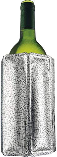 Vacu Vin 38803606 Rapid Ice Wine Cooler - Silver