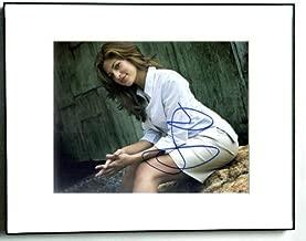 EVA MENDES Signed SEXY SKIRT Photo AFTAL