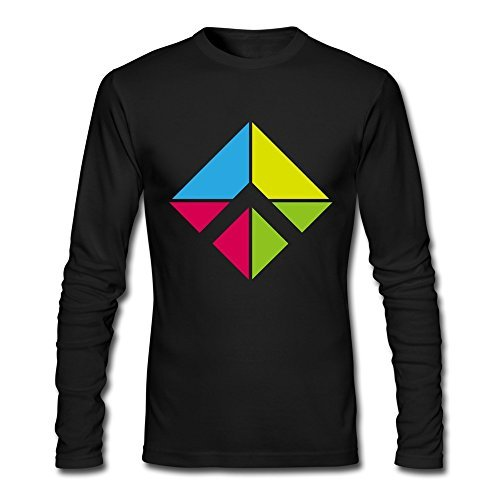 Eunice Dinah Team Farang Freerunning T-Shirts Black for Uomo Long Sleeve