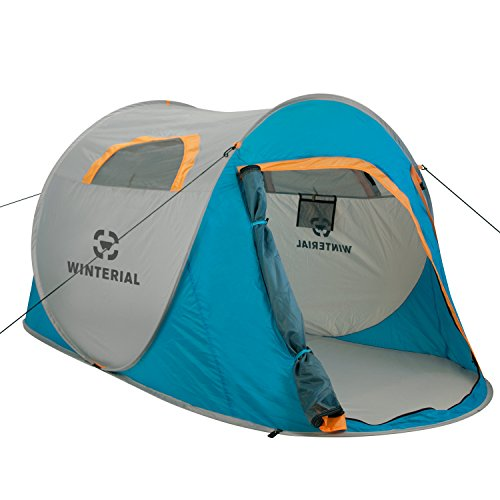 Winterial 2 Person Instant Pop Up Tent, Perfect for Camping,...