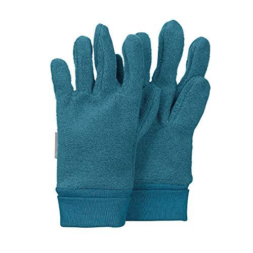 Sterntaler - Jungen Handschuhe Fingerhandschuh Fleece, opal mel. - 4331410, Größe 4