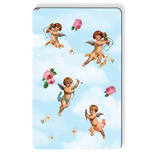 Skinnydip London x Myne Karten – Cherubs – Offizielle lizenzierte Skinnydip Myne Karte, RFID-Schutz, kontaktloses Pink
