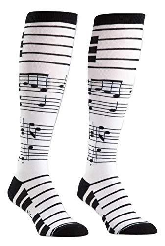 Sock It To Me, Women's Knee High, Music Socks