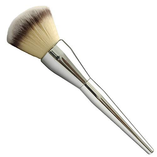 Pinceau De Maquillage En Poudre Douce 1 Argent (Fibre Synthétique)