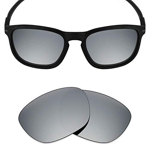 Mryok Ersatzgläser für Oakley Enduro - Options, Silber (Polarisiert – Silber Titan), Einheitsgröße