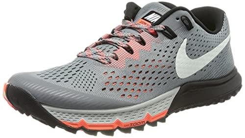 Nike Air Zoom Terra Kiger 4, Scarpe da Trail Running Donna, Grigio (Cool Grigio/Barely Verde/Nero/Deep Jungle 003), 37.5 EU