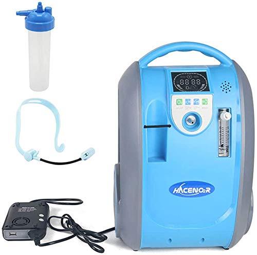 Concentrador y generador de oxígeno