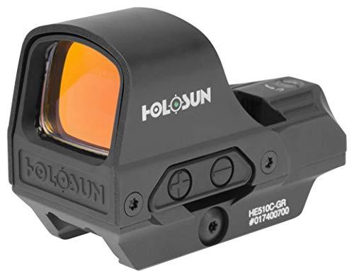 HOLOSUN - HE510C-GR Open Reflex Optical Sight with Super Green LED (2 MOA Dot, 65 MOA Circle) title