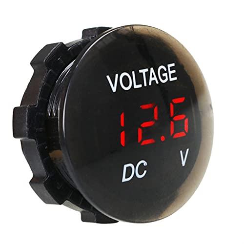 MCYAW Panel Digital Voltímetro LED Pantalla LED Metadero de Voltaje eléctrico Tester...