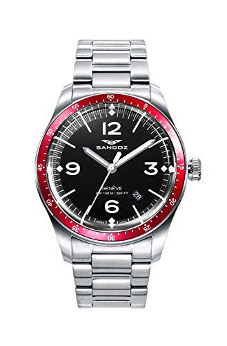 Sandoz - Reloj Acero Brazalete Sr Vitesse Sa - 81501-54