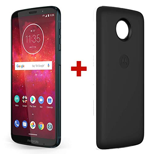 Motorola Z3 Play & Moto Power Pack - Unlocked (AT&T/Sprint/T-Mobile/Verizon) - 64GB - Deep Indigo...