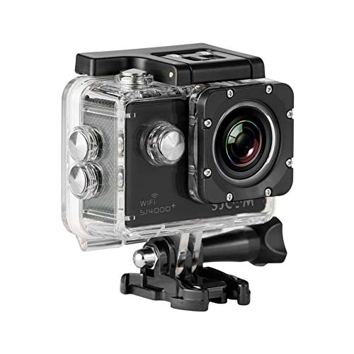 SJCAM SJ4000 Sportkamera (LCD-Display 1,5 Zoll, 1080p, 30 fps, wasserdicht bis 30 m)