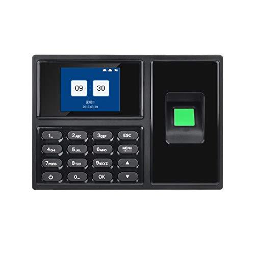 ZEFS--ESD Scanner d'empreinte Digitale Enregistreur Temps d'empreinte Digitale avec Horloge USB Flash Drive et Temps de présence TCP/IP Machine du Personnel pour Les employés Petites Entreprises