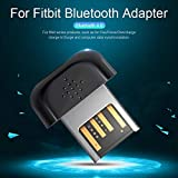 Mississ Compact and Lightweight Portable Bluetooth Sync Adapter for Fitbit There
