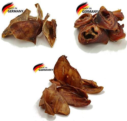 Schweineohren Mix 5 Kg   Deutsche Herstellung   Kauartikel   Hundesnack   Futter