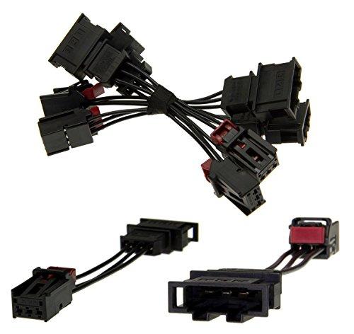 Adapter Universe led-achterlichten achterlichten ombouwset adapter kabel voor VW Golf 6 VI R GTI