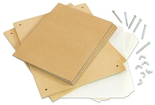 Betzold 70787 - Blumen-Presse XXL 32x26cm inkl. Kartonblättern und Einlegepapier
