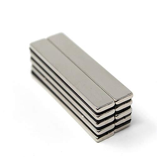 ネオジム磁石 60mm × 10mm × 3mm 10個 セット ネオジウム 磁石 バー 棒型 角型 強力 まとめ買い