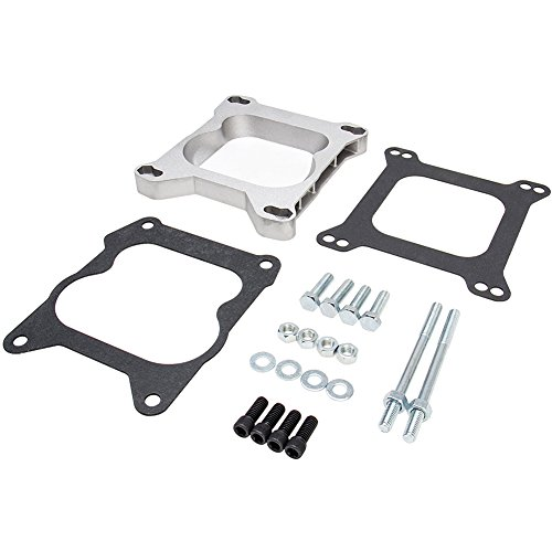 Carb Adapter Kit Edelbrock AFB 4 BBL Carb to Quadrajet Base Manifolds # 2696