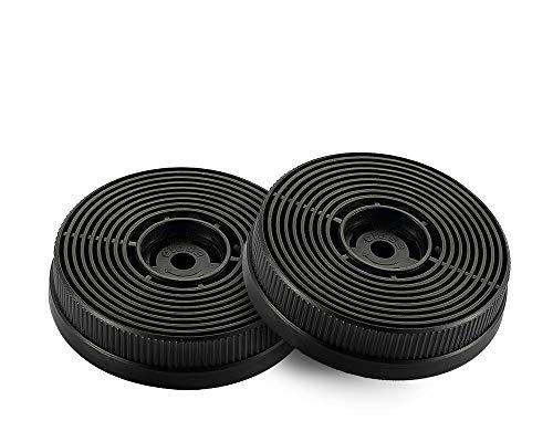 respekta Aktiv-Kohlefilter MIZ 0060 N Filter, 2 Stück