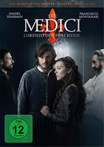 Die Medici: Lorenzo der Prächtige - Die komplette dritte Staffel [3 DVDs]