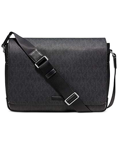 Michael Kors Jet Set Large Messenger Black Messenger Bags