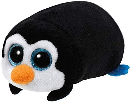 TY Beanie Baby–TY42141Teeny Tys–Pocket, 1 pingüino de peluche