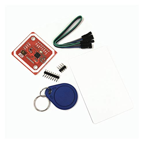 PN532 NFC RFID-Wireless-Modul V3-Benutzer-Kits Reader-Writer-Modus IC S50-Karten-PCB-Attennennennennummer I2C IIC SPI HSU für Arduino ( Color : The Whole Set )