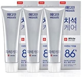 Median Advanced Tartar Toothpaste 86% Scaler White 120gx3bottle/(4.2ozx3bottle) Amore Pacific