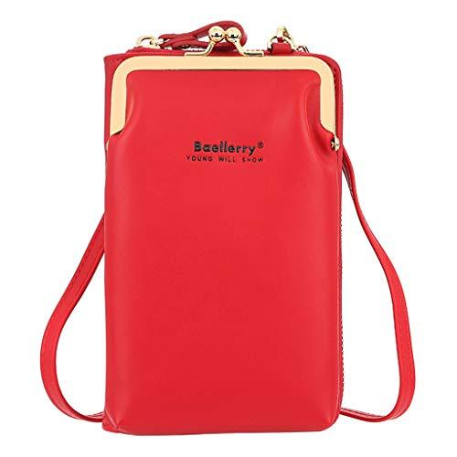 Bingxue Pequeños bolsos Crossbody de la manera de las mujeres mini pu cuero hombro mensajero bolsa para las muchachas señoras teléfono moned