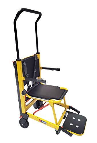 MS3C-300TS Aluminum Alloy EMS Evacuation Stair Chair, Foldable Ambulance Fire Evacuation Chair, Elderly Stair Assist Chair