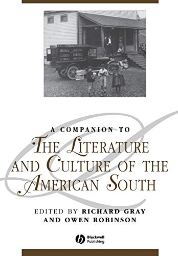 Comp Literature American South (Blackwell Companions to Literature and Culture)