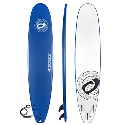 Osprey Weiches Surfbrett, 2,7 m lang, Unisex, BGG1400, blau, 274 cm